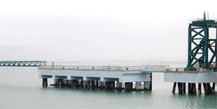厦门刘五店滚装码头砼表面防腐
