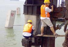 水上打入桩高应变检测