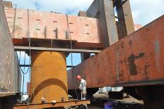 外海2千吨级抗压抗拔检测