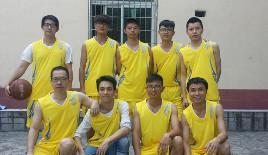 捷航组队参加篮球赛