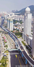 厦门BRT一号线工程