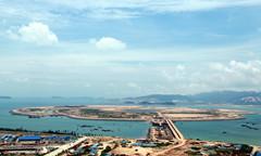 漳州双鱼岛B标填海工程主体